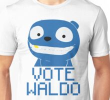 Vote Waldo – Black Mirror Unisex T-Shirt