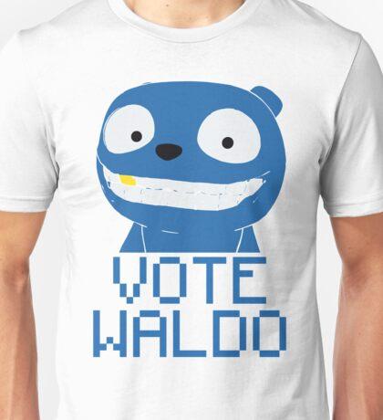 Vote Waldo – Black Mirror Unisex T-Shirt