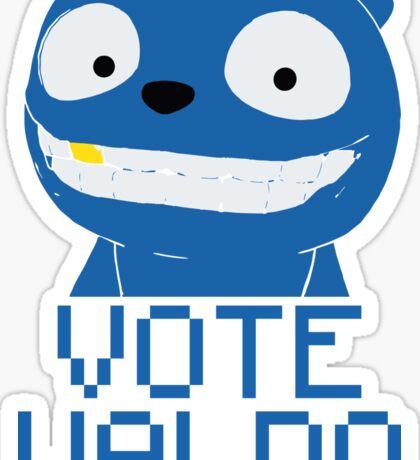 Vote Waldo – Black Mirror Sticker
