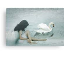 Captive Angel Canvas Print