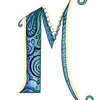 The Letter M by DalilaCasandra