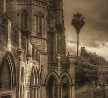 St. Mary's in sepia by CreativeUrge