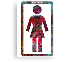 GIRL Skateboards Canvas Print