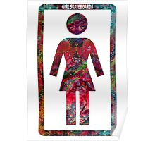 GIRL Skateboards Poster