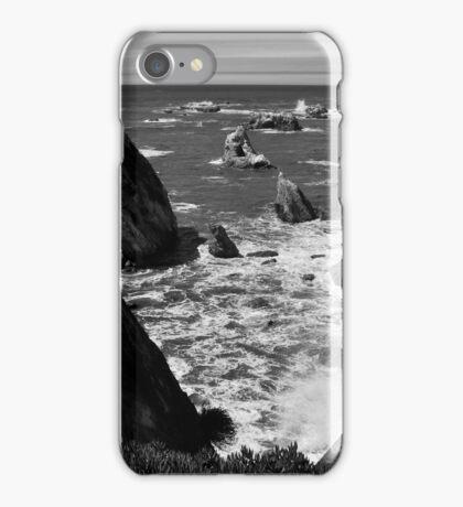 Cliffs, Sea, & Rocks - Shell Beach. iPhone Case/Skin