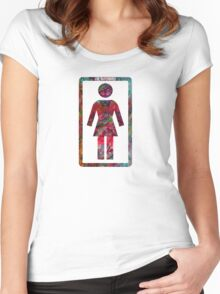 GIRL Skateboards Women's Fitted Scoop T-Shirt