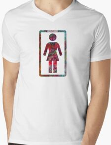 GIRL Skateboards Mens V-Neck T-Shirt