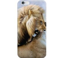 WILDLIFE WAYS - THE LION – Panthera leo iPhone Case/Skin