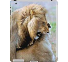 WILDLIFE WAYS - THE LION – Panthera leo iPad Case/Skin