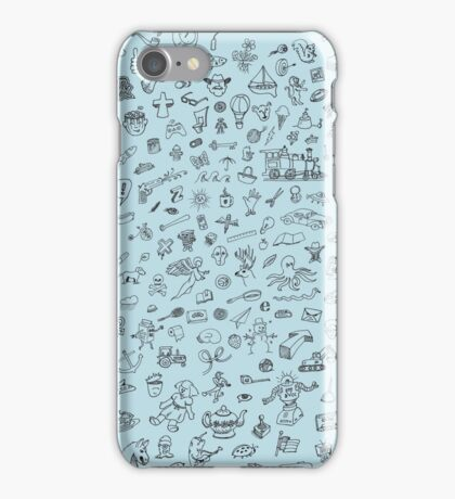 The Day After Yesterday's Doodle iPhone Case/Skin