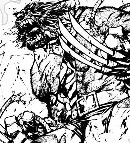 Wolverine Berserker Rage Sticker