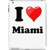 I Love Miami iPad Case/Skin