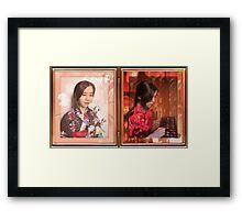 Of Japanese and Chinese Descent Framed Print
