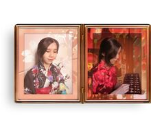 Of Japanese and Chinese Descent Canvas Print