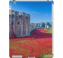Poppies in the Moat 2 iPad Case/Skin