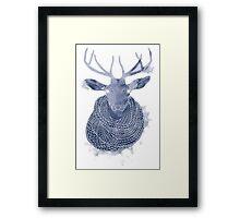 Woolen creature Framed Print
