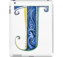 The Letter J iPad Case/Skin