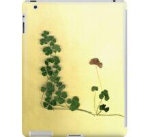 Golden Clover Dreams iPad Case/Skin