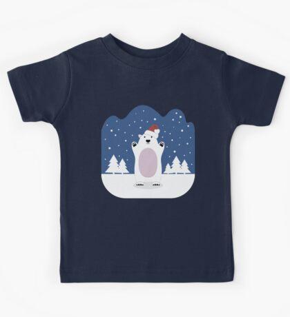 Christmas Bear Kids Tee