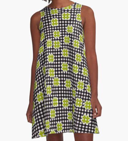 Octothorpes A-Line Dress