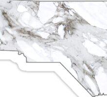 Marble North Carolina Sticker