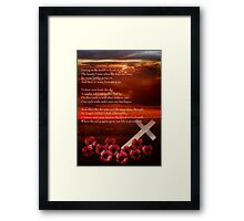 Why Sunsets Are Red Framed Print