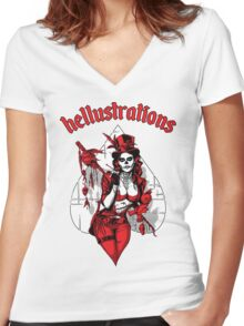 The Witchdoctor Women's Fitted V-Neck T-Shirt