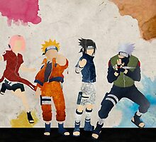 Team 7 - Naruto by doubleu42