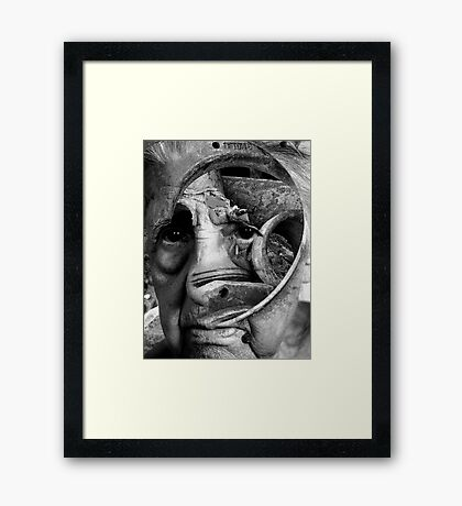 My Tears Framed Print