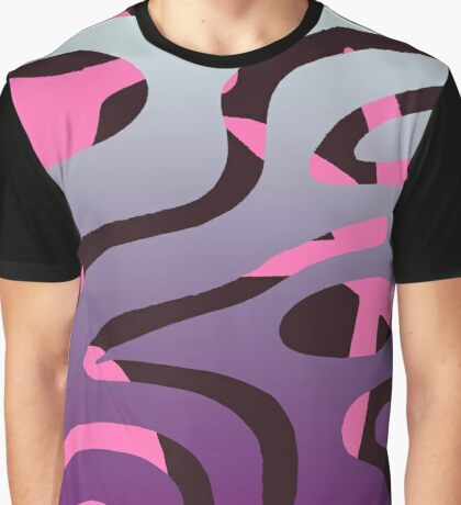 Double Reality (Plum) Graphic T-Shirt