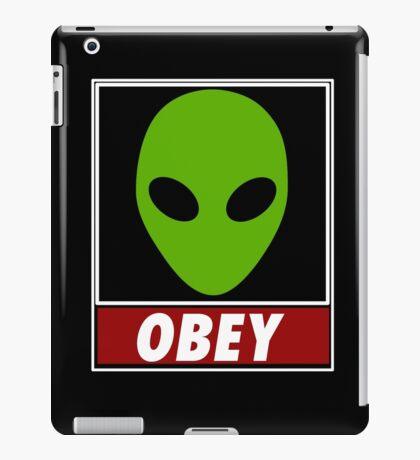 Alien Obey iPad Case/Skin