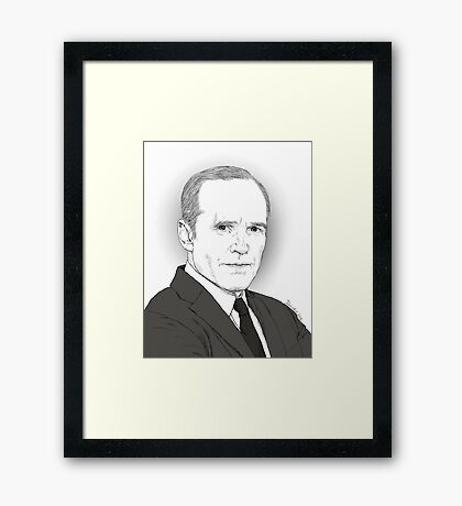 Agent Coulson Framed Print