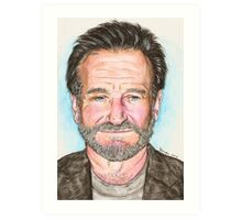 Robin Willams Art Print