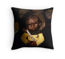 Small Security Officer Throw Pillow