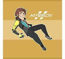 HYPERION - Rhys the Company man - Tales from the Borderlands Photographic Print