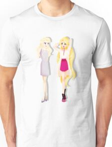 Princesses' Fabulous Hair Unisex T-Shirt