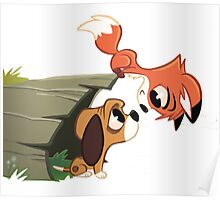 The Fox & The Hound - Todd and Copper Poster
