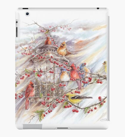 A Jewel of a Feeder iPad Case/Skin