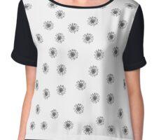 Daisy pattern Chiffon Top