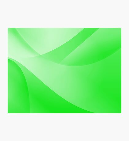 Green Wallpaper Photographic Print