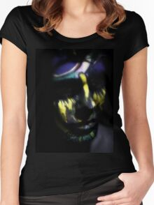 Inner Shadows 2 Women's Fitted Scoop T-Shirt