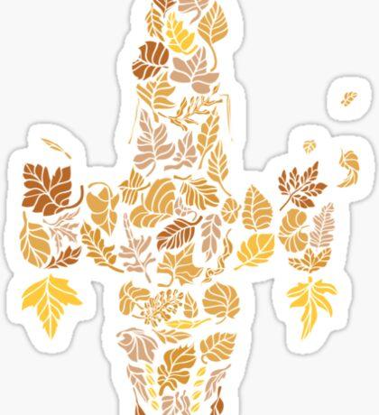 I am a leaf on the wind... Sticker