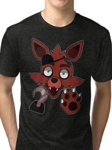 Foxy (no text/no blood) Tri-blend T-Shirt