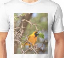 Golden Weaver - African Peace Symbol Unisex T-Shirt