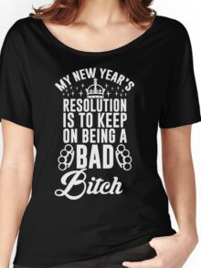 New Year's Resolution Women's Relaxed Fit T-Shirt