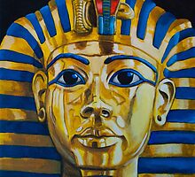 King Tutankhamun by iamdeirdre