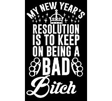 New Year's Resolution Photographic Print