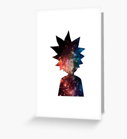 Ricky and Morty Greeting Card