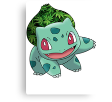 Bulbasaur Bud Canvas Print
