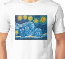 Starry Tardis Night Unisex T-Shirt